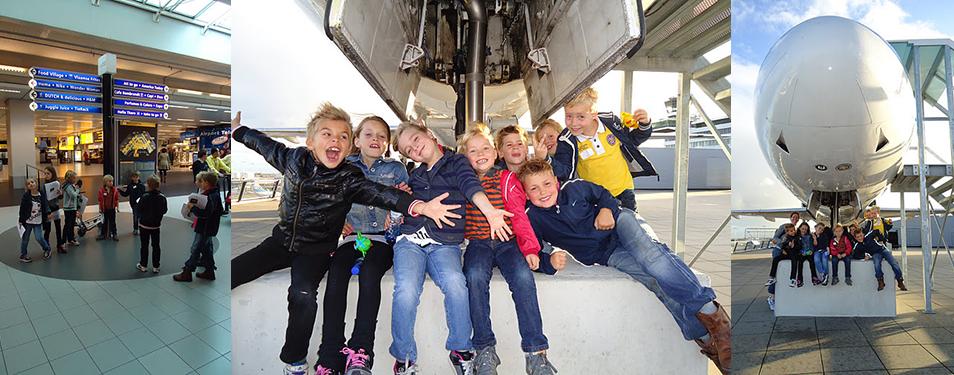 Kinderfeestje op Luchthaven Amsterd...