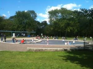 Kinderfeestje in het Vondelpark
